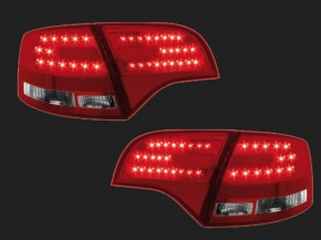dectane LED Rückleuchten Audi A4 Avant B7 04-08 red/clear (B-Ware Einzelset)