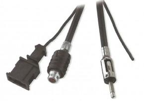Calearo Antennenverlängerungskabel UKW HC97 Stecker - DIN Stecker