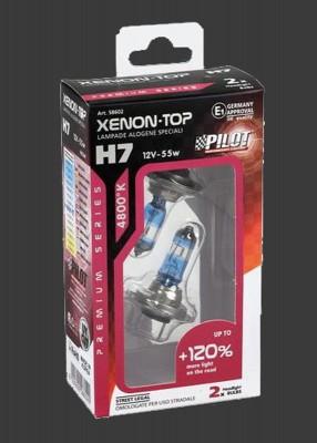 Pilot 'XENON PLUS' Halogenlampen H7 12V 55W +120% mehr Licht (2Stück)