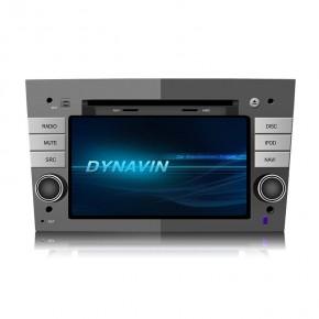 DYNAVIN 2-DIN Multimediagerät N6 für Opel Antara/ Zafira B/ Astra H/ Corsa D inkl. i-GO Navigationssoftware und 16GB MicroSD in silber