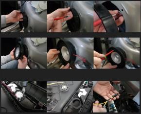 """GROUND ZERO """"GZCS 165VW"""" Fahrzeugspezifisches 165 mm 2-Wege Lautsprechersystem für VW, Skoda und Seat"""