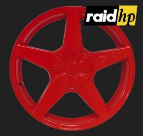 raid hp Automotive Sprühfolie Rot seidenglanz (1 x 500ml)