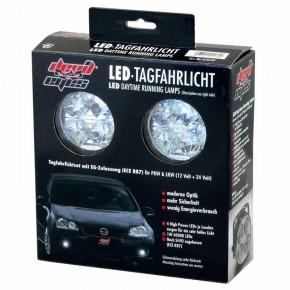 devil eyes LED Tagfahrlicht-Set rund 70x52,8mm mit 4 LED