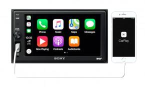 """SONY 6,2""""(15,7cm) 2-DIN Autoradio """"XAV-AX1005DB"""" inkl. Apple CarPlay, DAB+, BT OHNE CD Laufwerk"""