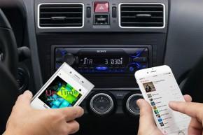 """SONY 1-DIN Autoradio """"DSX-A510BD"""" inkl. BT, DAB+ OHNE CD Laufwerk"""