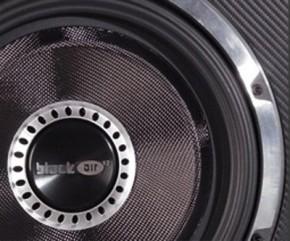 """Vibe BlackAir Vented 12"""" (30cm) passive Subwooferkiste Max.Power 1600W """"Black Edition"""""""