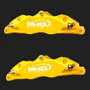 Farbänderung in gelb glänzend für alle 330mm V-MAXX Big Brake Bremssättel (Nur möglich bei Bestellung eines neuen Big Brake Kits)