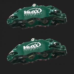 Farbänderung in grün glänzend für alle 330mm V-MAXX Big Brake Bremssättel (Nur möglich bei Bestellung eines neuen Big Brake Kits)